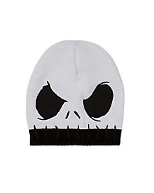Stitched Jack Skellington Beanie