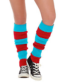 Thing Leg Warmers - Dr. Seuss