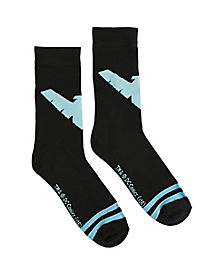 Nightwing Crew Socks - DC Comics