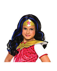 Kids Wonder Woman Wig - DC Comics