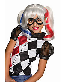Kids Harley Quinn Wig - DC Girls