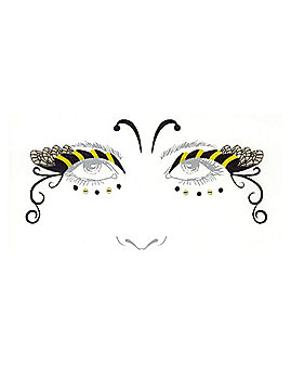 Bumble Bee Face Decal