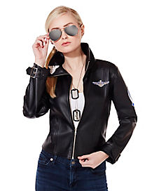 Adult Charlie Bomber Jacket - Top Gun