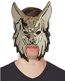 Metallic Werewolf Mask