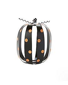 Glitter Spotted Pumpkin