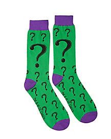 Riddler Basic Crew Socks – DC Comics