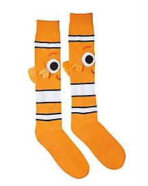 3D Nemo Knee High Socks - Finding Dory