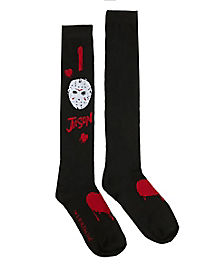 I Heart Jason Knee High Socks - Friday the 13th
