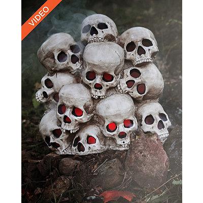 1.4 Ft Fogging Skull Pile - Decorations