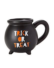 Trick or Treat Cauldron Mug