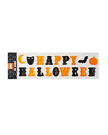 Happy Halloween Window Cling - Decoration