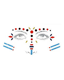 Native American Face Decals