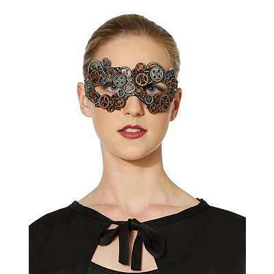 Victorian Steampunk Clothing & Costumes for Ladies Steampunk Eye Mask $6.99 AT vintagedancer.com
