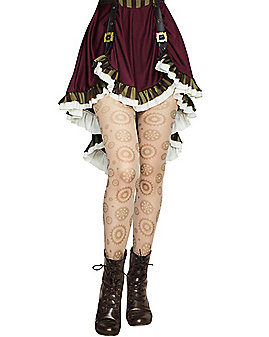 Steampunk Gear Tights