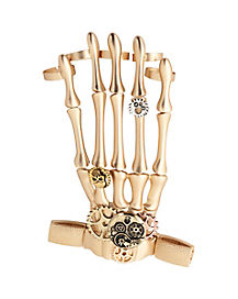 Steampunk Skeleton Hand Jewelry