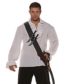 Pirate Sword Belt With Knives