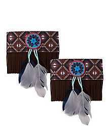 Native American Fringe Armbands