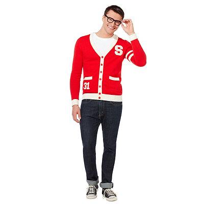 1950s Men's Costumes 50s Letterman Sweater $29.99 AT vintagedancer.com