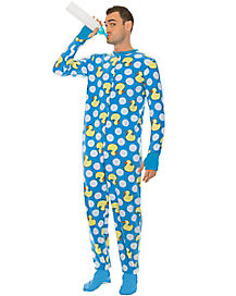 Adult Blue Duck Baby Pajama