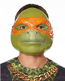 Adult Michelangeo Mask Deluxe - TMNT
