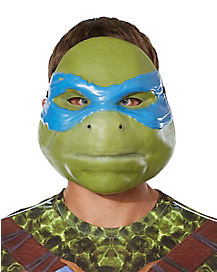 Adult Leonardo Mask Deluxe - TMNT