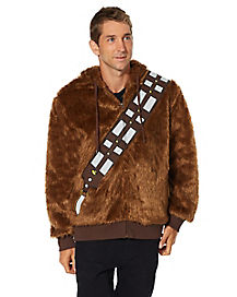 Faux Fur Chewbacca Hoodie - Star Wars