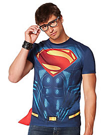 Caped Superman Shirt - Batman v. Superman: Dawn of Justice