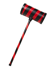 Black and Red Striped Hammer
