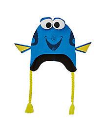 Dory 3D Laplander Hat - Finding Dory