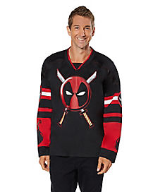 Deadpool Hockey Jersey - Marvel Comics