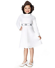 Kids Hooded Leia Dress - Star Wars
