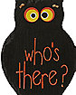Owl Whos There Sign - Decorations