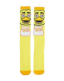 Chica Knee High Socks - Five Nights at Freddy's