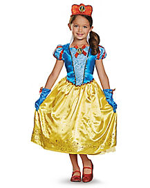 Kids Snow White Costume Deluxe - Snow White and the Seven Dwarfs