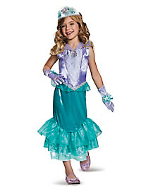 Kids Ariel Costume Deluxe - The Little Mermaid