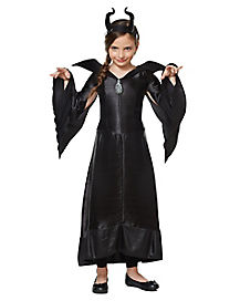 Kids Maleficent Costume Deluxe - Maleficent