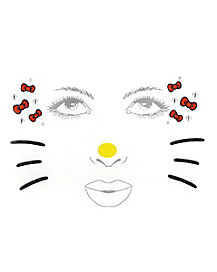 Kids Hello Kitty Face Decal - Hello Kitty