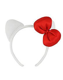 Kids Hello Kitty Bow Headband
