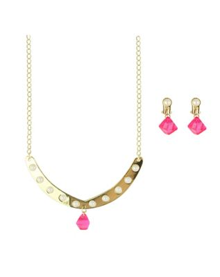 Shine Necklace and Earring Set