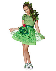 Kids Poison Ivy Costume - DC Comics