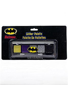 Batman Glitter Eyeshadow Palette - DC Comics