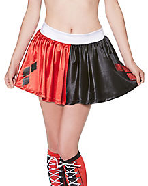 Adult Harley Quinn Skirt - DC Comics