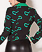 Adult Riddler Jacket - DC Comics