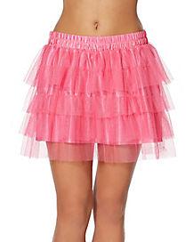 Adult Pink Tutu Skirt