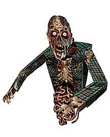 2.5 Ft 3D Hanging Zombie Cutout - Decorations