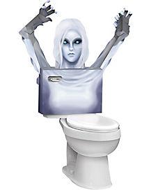 3D Toilet Ghost