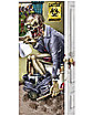 5 Ft Zombie Bathroom Door Cover