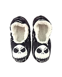 Jack Skellington Slippers - Nightmare Before Christmas