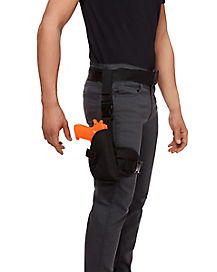 Police Belt with Leg Holster