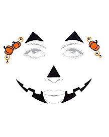 Sweet Pumpkin Face Decal